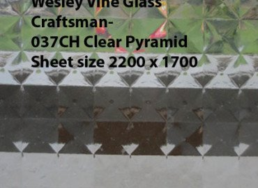 Wesley Vine Glass Craftsman-6.38 mm White Translucent Laminate sheet size 2200x1700