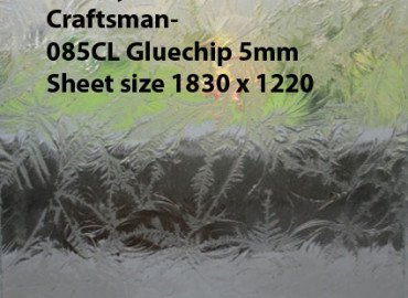 Wesley Vine Glass Craftsman-6.38 mm White Translucent Laminate sheet size 2440x1220