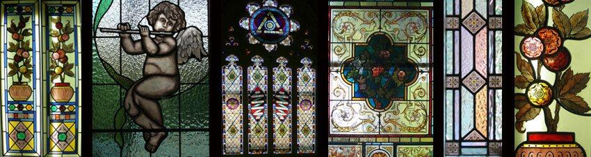 Stained Glass Door