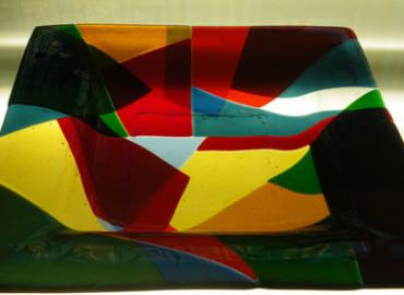 Wesley Vine Glass Craftsman-6.38 mm White Translucent Laminate sheet size 2200x1700