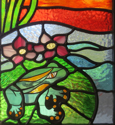 Leadlight glass fishes