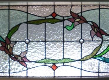 Edwardian Leadlights Glass Door