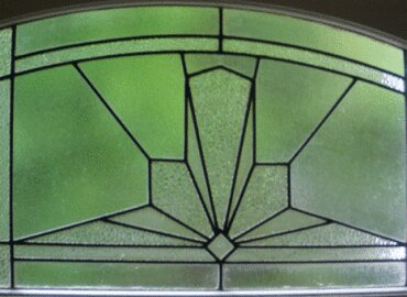 Art deco Leadlight windows
